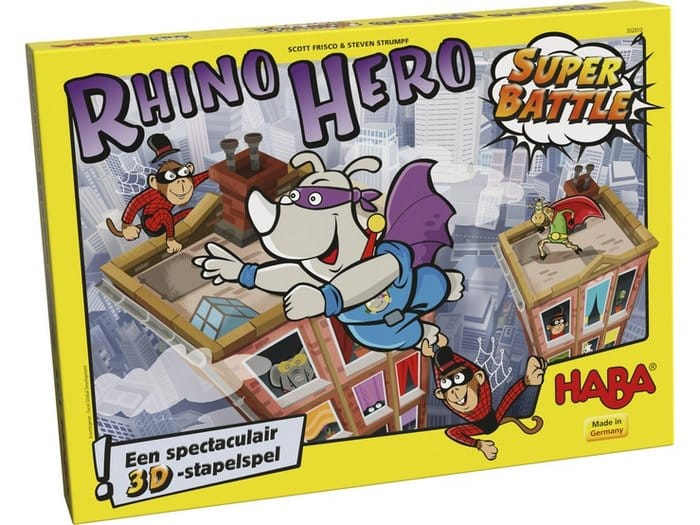 Haba Rhino Hero 3D-stapelspel
