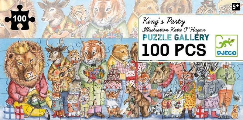 Puzzel King's party 100st.