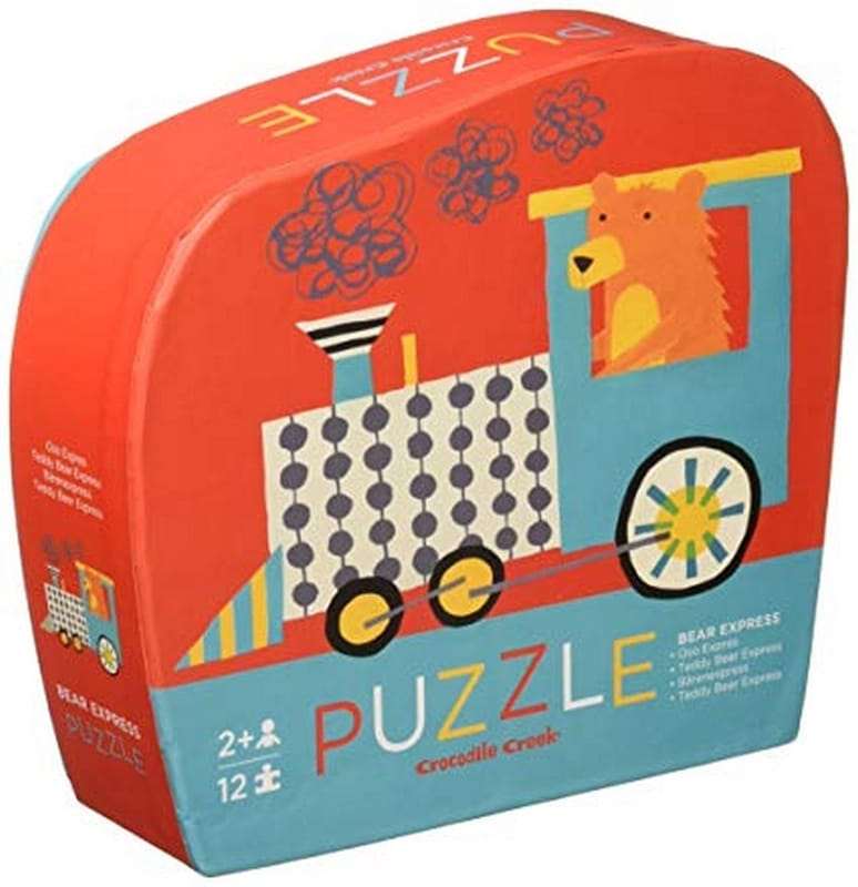 Crocodile Creek puzzel 12 st. Beer Expres