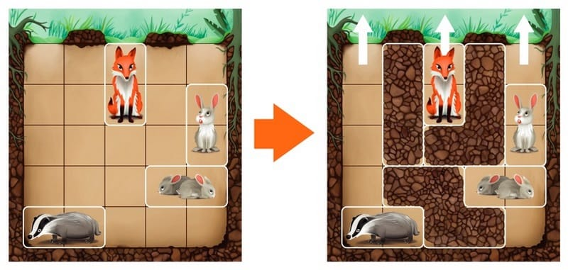 Smart Games Down the Rabbit Hole Magnetic