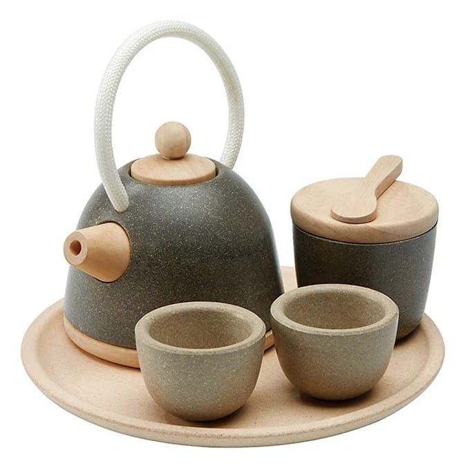 Plantoys Classic Tea Set